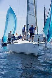 Silvers Marine Scottish Series 2017<br /> Tarbert Loch Fyne - Sailing<br /> GBR8543R, Jings, Robin Young, CCC, J109<br /> <br /> Credit Marc Turner / PFM