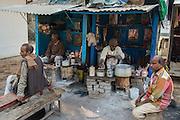 Chi stall, Sarnath.