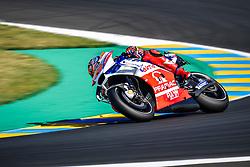 May 19, 2018 - Le Mans, Sarthe, France - 43 JACK MILLER (AUS) ALMA PRAMAC RACING (ITA) DUCATI DESMOCEDICI GP17 (Credit Image: © Panoramic via ZUMA Press)