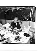"Estie Campbell, Chuck Scarbarough, Anne Scarbarough ""Men and Woman"" H.B.O Party E.Hampton August 1990© Copyright Photograph by Dafydd Jones 66 Stockwell Park Rd. London SW9 0DA Tel 020 7733 0108 www.dafjones.com"
