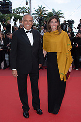Aberto Barbera and his daughter attending the Les Miserables Premiere as part of the 72nd Cannes International Film Festival in Cannes, France on May 15, 2019. Photo by Aurore Marechal/ABACAPRESS.COM