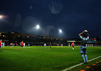 Leeds United's Jack Harrison takes a throw in<br /> <br /> Photographer Alex Dodd/CameraSport<br /> <br /> The EFL Sky Bet Championship - 191123 Luton Town v Leeds United - Saturday 23rd November 2019 - Kenilworth Road - Luton<br /> <br /> World Copyright © 2019 CameraSport. All rights reserved. 43 Linden Ave. Countesthorpe. Leicester. England. LE8 5PG - Tel: +44 (0) 116 277 4147 - admin@camerasport.com - www.camerasport.com