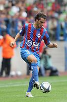 FOOTBALL - FRENCH CHAMPIONSHIP 2010/2011 - L1 - SM CAEN v OLYMPIQUE LYONNAIS - 15/08/2010 - PHOTO ERIC BRETAGNON / DPPI - ROMAIN INEZ (CAEN)