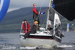 Peelport Clydeport Largs Regatta Week 2013 <br /> <br /> GBR9544, Mercenary, Impala, Ken Brown, CSC<br /> <br /> Largs Sailing Club, Largs Yacht Haven, Scottish Sailing Institute