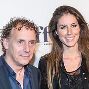 NLD/Amsterdam/20161005 - Filmpremiere Tonio, Robin de Leviat en Iris Hond