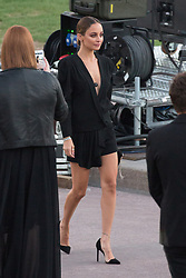 Nicole Richie arriving at the Saint Laurent Fashion Show during Paris Fashion Week Womenswear Spring - summer 2019 held in Paris, France on september 25, 2018. Photo by Nasser Berzane/ABACAPRESS.COM.