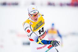 January 6, 2018 - Val Di Fiemme, ITALY - 180106 Daniel Rickardsson of Sweden after men's 15km mass start classic technique during Tour de Ski on January 6, 2018 in Val di Fiemme..Photo: Jon Olav Nesvold / BILDBYRN / kod JE / 160123 (Credit Image: © Jon Olav Nesvold/Bildbyran via ZUMA Wire)
