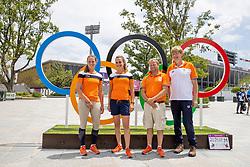 Leendert Jan Hofland, Blom Merel, Heffernann Andrew, Boonzaaijer Janneke, NED<br /> Olympic Games Tokyo 2021<br /> © Hippo Foto - Dirk Caremans<br /> 31/07/2021