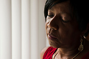 Delphine Prentice remembers her son who was murdered one year ago outside his home in west Louisville. His death is among several homicides that remain unsolved in Louisville.