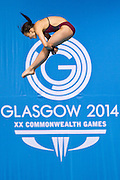 Mcc0055084 . Daily Telegraph<br /> <br /> England's Victoria Vincent, who is controversially only 13 years old, diving in the Women's 10m Platform at the Royal Commonwealth Pool in Edinburgh on Day 8 of the 2014 Commonwealth Games .