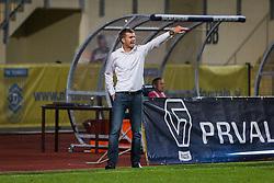 Simon Rozman, head coach of NK Domzale during football match between NK Domzale and NK Aluminij in 8th Round of Prva liga Telekom Slovenije 2016/17, on September 9, 2016 in Sportni Park, Domzale, Slovenia. Photo by Ziga Zupan / Sportida