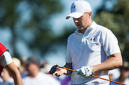 Jordan Spieth in action during the opening round of the Australian Open at The Australian Golf Club, Sydney (Photo: Anthony Powter)