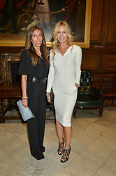 Left to right, ? and MELISSA ODABASH at the LDNY Fashion Show and WIE Award Gala sponsored by Maserati held at The Goldsmith's Hall, Foster Lane, City of London on 27th April 2015.