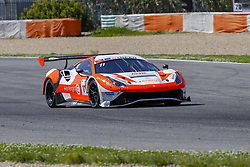 April 14, 2018 - Estoril, Estoril, Portugal - Ferrari 488 GT3 of RS Racing driven by Daniele Di Amato and Andrea Montermini during Race 1 of International GT Open, at the Circuit de Estoril, Portugal, on April 14, 2018. (Credit Image: © Dpi/NurPhoto via ZUMA Press)