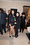 SHEETAL MAFATLAL; JACKIE MARTIN, Dinner hosted by Denise Estfandi, for the Council of the Serpentine Gallery to celebrate the opening of  Nancy Spero at the Serpentine Gallery. London.  Upper Brook house. 10a upper brook st.1 March 2011. -DO NOT ARCHIVE-© Copyright Photograph by Dafydd Jones. 248 Clapham Rd. London SW9 0PZ. Tel 0207 820 0771. www.dafjones.com.