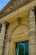 Entrance to the Orangerie Museum,  Tuileries Garden, Paris, France