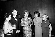 26/03/1966<br /> 03/26/1966<br /> 26 March 1966<br /> U.S. travel agents reception at the Intercontinental Hotel, Dublin. Pamela Dryden second from right.