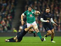 Rugby Union - 2017 Guinness Series (Autumn Internationals) - Ireland vs. Argentina<br /> <br /> Ireland's Sean O'Brien in action against Argentina's Santiago Gonzalez Iglesias, at the Aviva Stadium.<br /> <br /> COLORSPORT/KEN SUTTON