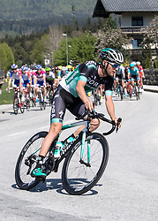 20.04.2018, Innsbruck, AUT, Tour of the Alps, Österreich, 5. Etappe, von Rattenberg nach Innsbruck (164,2 km), im Bild Felix Grossschartner (AUT, Bora - Hansgrohe) // Felix Grossschartner of Austria Team Bora - Hansgrohe during 5th stage from Rattenberg to Innsbruck of 2018 Tour of the Alps in Innsbruck, Austria on 2018/04/20. EXPA Pictures © 2018, PhotoCredit: EXPA/ Reinhard Eisenbauer