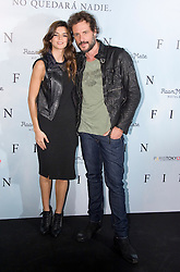 Clara Lago with Daniel Grao attend a photocall for 'Fin', Room Mate Oscar Hotel, Madrid, Spain, November 20, 2012. Photo by Oscar Gonzalez / i-Images...SPAIN OUT