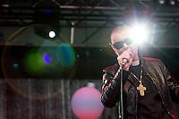Bilde fra konserten til Sinèad O'Connor på Midtsommerjazz 2013 i Ålesund.<br /> Foto: Svein Ove Ekornesvåg
