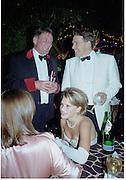 Alexandra Gordon-Lennox and the Earl of March. Mr. and Mrs. Stirling Moss. Goodwood Revival Meeting  Ball 16 September 2000. 2000© Copyright Photograph by Dafydd Jones 66 Stockwell Park Rd. London SW9 0DA Tel 020 7733 0108 www.dafjones.com