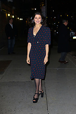 Celebs outside the Late show with Stephen Colbert - 13 Nov 2018