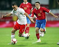 Fotball<br /> EM-kvalifisering<br /> 06.09.2006<br /> Polen v Serbia<br /> Foto: Wrofoto/Digitalsport<br /> NORWAY ONLY<br /> <br /> IRENEUSZ JELEN /L/ OF POLAND AND  NENAD KOVACEVIC /R/ OF SERBIA