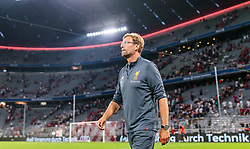 02.08.2017, Allianz Arena, Muenchen, GER, Audi Cup, FC Liverpool vs Atletico Madrid, Finale, im Bild Trainer Juergen Klopp (FC Liverpool) // during the Audi Cup Final Match between FC Liverpool and Atletico Madrid at the Allianz Arena, Munich, Germany on 2017/08/02. EXPA Pictures © 2017, PhotoCredit: EXPA/ JFK