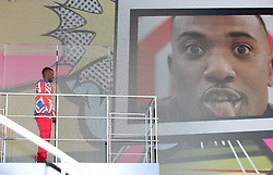 Ray J Norwood enters the Celebrity Big Brother house at Elstree Studios in Borehamwood, Herfordshire, during the latest series of the Channel 5 reality TV programme.