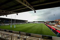 A general view of Kingston Park Stadium, home of Newcastle Falcons - Mandatory by-line: Robbie Stephenson/JMP - 21/09/2018 - RUGBY - Kingston Park Stadium - Newcastle upon Tyne, England - Leicester Tigers v Exeter Chiefs - Gallagher Premiership