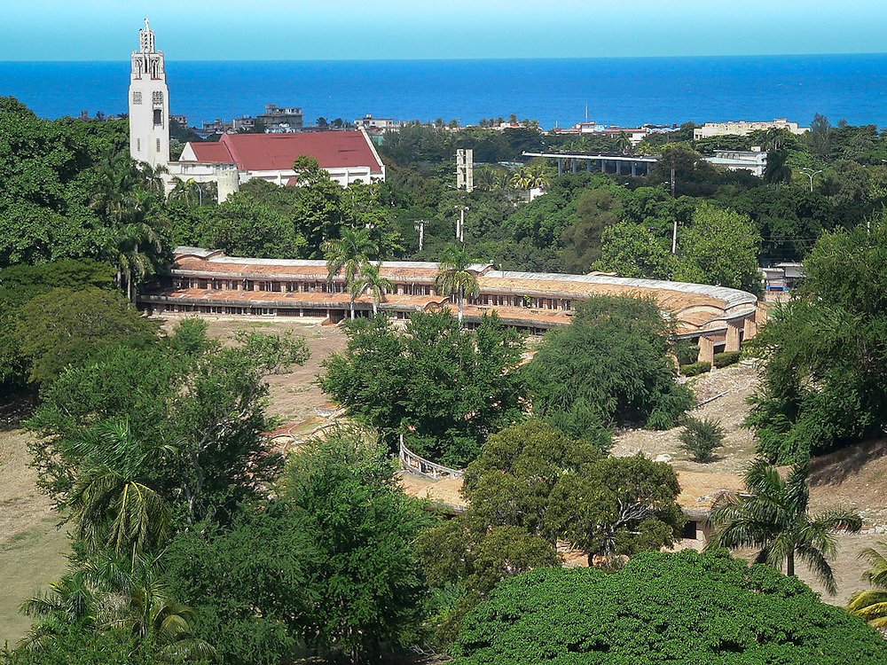 The National School of Music (1961-1965) was designed by Vittorio Gregotti in La Havana Cuba. Built during the early days of the Cuban Revolution and conceived as a symbol of what the new government was capable.