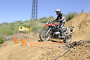 Bill Dragoo of Norman, OK on BMW GS during day 1 competition at 2010 Rawhyde Adventure Rider Challenge