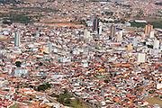 Pouso Alegre_MG, Brasil...Vista aerea da cidade de Pouso Alegre. ..Pouso Alegre aerial view...FOTO: LEO DRUMOND /  NITRO