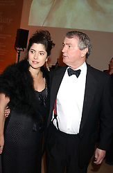 STEPHEN QUINN and his wife KIMBERLEY FORTIER at a fundraising gala to celebrate 150 years of The National Portrait Gallery, at the NPG, St.Martin's Place, London on 28th February 2006.<br /><br />NON EXCLUSIVE - WORLD RIGHTS