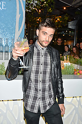 TOM PARKER at the Belvedere Balance Bar Launch Party at The Hoxton Hotel, 81 Great Eastern Street, London on 10th May 2016.