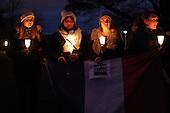 Vigil for victims of Paris terrorist attack