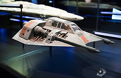 EDITORIAL USE ONLY<br /> A Snowspeeder goes on display at The STAR WARS Identities: The Exhibition at The O2 in London, which features over 200 props, models, costumes and artwork from the original films.