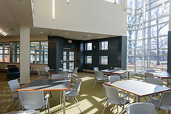 Central High School Bridgeport CT Expansion & Renovate as New. State of CT Project # 015-0174. One of 80 Photographs of Progress Submission 13, 01 March 2016. Media Center and Temporary Library.