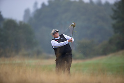 Great Britain's Dame Laura Davies plays from the deep rough at the 16th during her Semi Final match with Sweden this morning during day eleven of the 2018 European Championships at Gleneagles PGA Centenary Course. PRESS ASSOCIATION Photo. Picture date: Sunday August 12, 2018. See PA story GOLF European. Photo credit should read: Kenny Smith/PA Wire. RESTRICTIONS: Editorial use only, no commercial use without prior permission