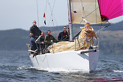 The Clyde Cruising Club's Scottish Series held on Loch Fyne by Tarbert. Day 2 racing in a perfect southerly..GBR97L ,Jaywalker ,Iain Laidlaw ,0.987 ,CCC ,J97