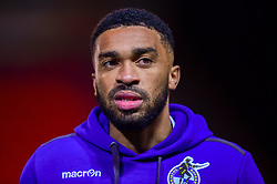 Tareiq Holmes-Dennis of Bristol Rovers arrives at St James Park prior to kick off - Mandatory by-line: Ryan Hiscott/JMP - 13/11/2018 - FOOTBALL - St James Park - Exeter, England - Exeter City v Bristol Rovers - Checkatrade Trophy