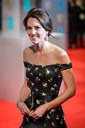 The Duchess of Cambridge attending the EE British Academy Film Awards held at the Royal Albert Hall, Kensington Gore, Kensington, London. Picture date: Sunday February 12th, 2017. Photo credit should read: Matt Crossick/ EMPICS Entertainment.