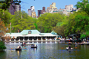 BoatHouse Cafe, The Lake, Central Park, Manhattan, New York