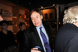 NICK FOULKES at a party to celebrate 25 years of the David Linley store , 60 Pimlico Road, London on 16th November 2010.