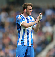 Dale Stephens during the Sky Bet Championship match between Brighton and Hove Albion and Watford at the American Express Community Stadium, Brighton and Hove, England on 25 April 2015.