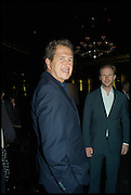 MARIO TESTINO; JAN OLESEN, Party to celebrate Vanity Fair's very British Hollywood issue. Hosted by Vanity Fair and Working Title. Beaufort Bar, Savoy Hotel. London. 6 Feb 2015