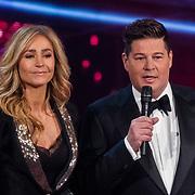 NLD/Hilversum/20180216 - Finale The voice of Holland 2018, Wendy van Dijk en Martijn Krabbe