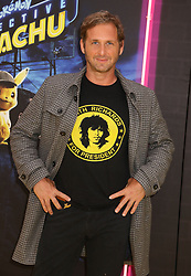 May 2, 2019 - New York City, New York, U.S. - Actor JOSH LUCAS attends the US premiere of Pokemon Detective Pikachu held at Military Island Times Square. (Credit Image: © Nancy Kaszerman/ZUMA Wire)
