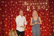 Derek and Julianne Hough visit Forever Young Foundation